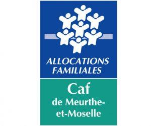 logo caisse d'allocations familiales de Meurthe-et-Moselle